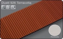 Wabenplissee Blackout Terracotta