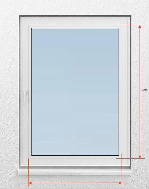 Häufig Fenster richtig messen: Plissee Messen, Messanleitung für NW34